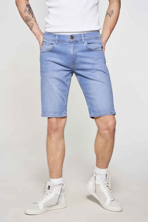 Le Fabuleux Marcel de Bruxelles Denim shorts denim IMP211MT 048_DENIM img2
