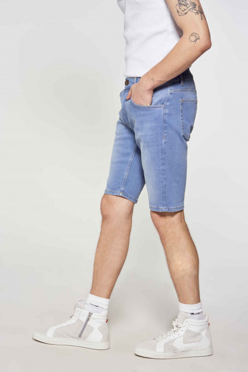 Le Fabuleux Marcel de Bruxelles Denim shorts denim IMP211MT 048_DENIM img3