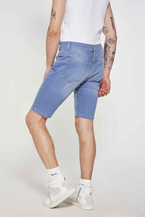 Le Fabuleux Marcel de Bruxelles Denim shorts denim IMP211MT 048_DENIM img4