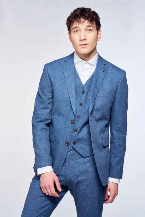 Le Fabuleux Marcel de Bruxelles Blazers blauw IMP213MT 018_INDIGO BLUE img2