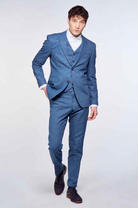 Le Fabuleux Marcel de Bruxelles Kostuumbroeken blauw IMP213MT 020_INDIGO BLUE img1
