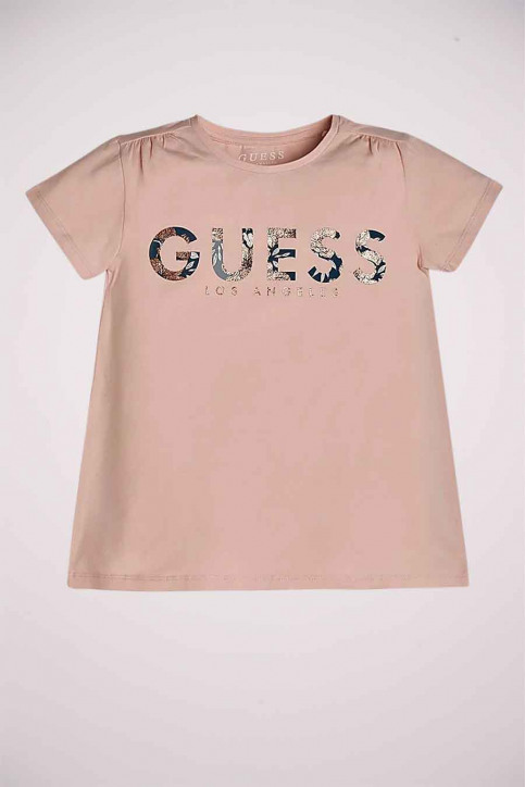 GUESS T-shirts manches courtes rose J0YI27K6YW0_PIK PINK SKY img1