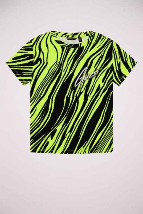 GUESS T-shirts manches courtes jaune J0YI46K9Z30_P20E POPZEBRA img5
