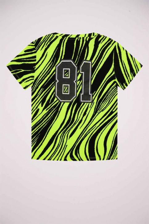 GUESS T-shirts manches courtes jaune J0YI46K9Z30_P20E POPZEBRA img6