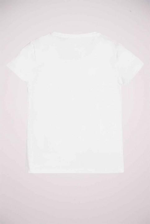 GUESS T-shirts met korte mouwen wit J0YI47J1300_TWHT TRUE WHITE img2