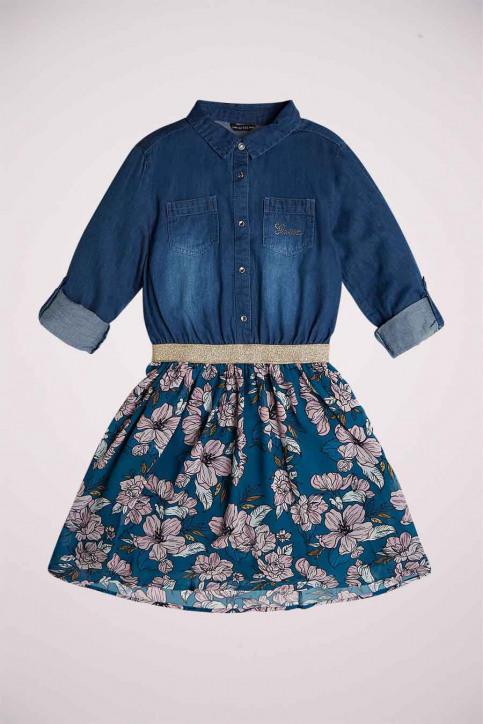 GUESS Robes courtes denim J0YK35W7RL0_BSRS BLUESILVRO img1