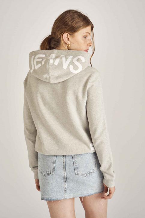 Calvin Klein Sweaters met kap grijs J20J211480_038 LIGHT GREY img3