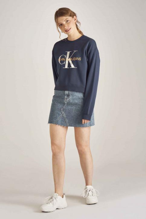 Calvin Klein Sweaters met ronde hals blauw J20J211803_499 MEDIEVAL BL img2