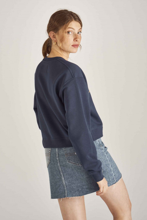 Calvin Klein Sweaters met ronde hals blauw J20J211803_499 MEDIEVAL BL img3