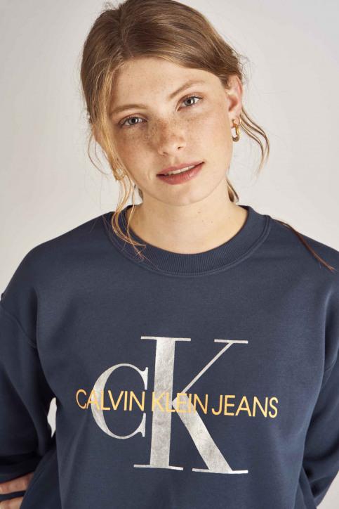 Calvin Klein Sweaters met ronde hals blauw J20J211803_499 MEDIEVAL BL img4
