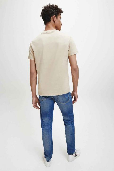 Calvin Klein T-shirts (korte mouwen) beige J30J316471AEB_AEB IRISCH CREA img3