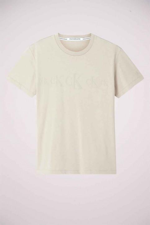 Calvin Klein T-shirts (korte mouwen) beige J30J316471AEB_AEB IRISCH CREA img5