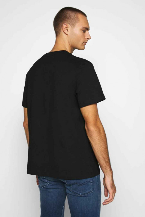 Calvin Klein T-shirts (korte mouwen) zwart J30J316601BEH_BEH CL BLACK img3