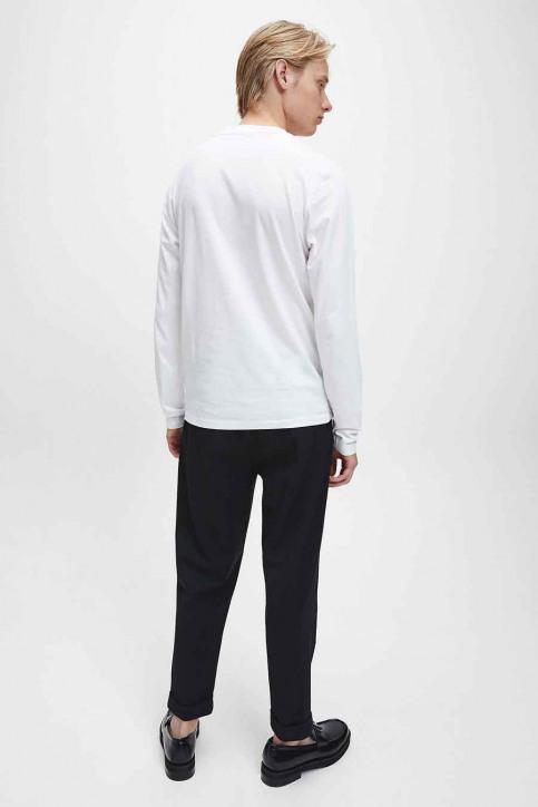 Calvin Klein T-shirts (lange mouwen) wit J30J316884YAF_YAF BRIGHT WHIT img2