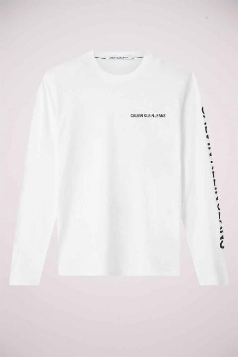 Calvin Klein T-shirts (lange mouwen) wit J30J316884YAF_YAF BRIGHT WHIT img4