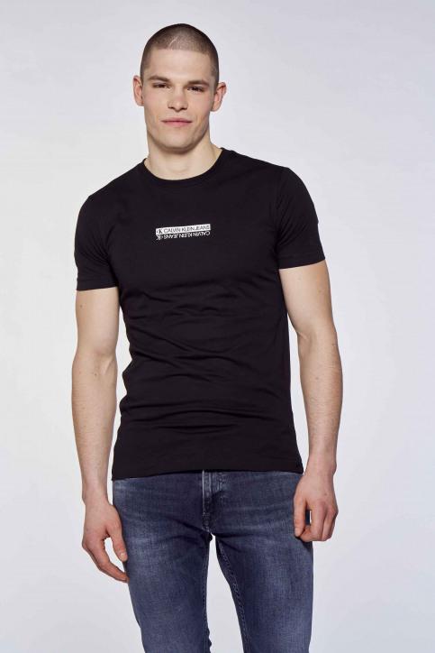 Calvin Klein T-shirts (korte mouwen) multicolor J30J317063BEH_BEH CK BLACK img1