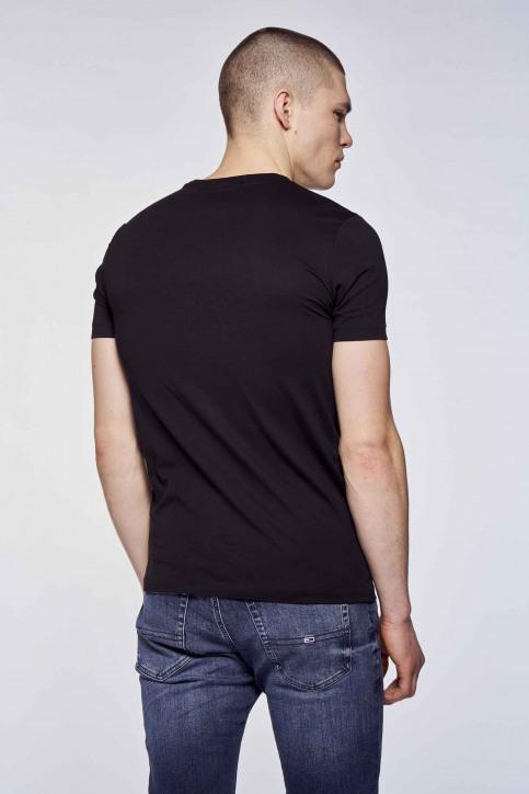 Calvin Klein T-shirts (korte mouwen) multicolor J30J317063BEH_BEH CK BLACK img2