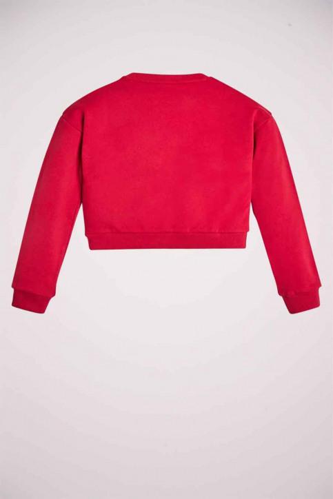 GUESS Sweaters met O-hals rood J91Q10K8D80DIPK_DIPK DISCO PINK img2