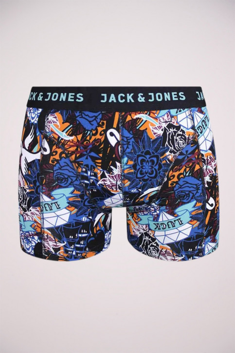 ACCESSORIES BY JACK & JONES Boxers brun JACCONNER TRUNKS_PORT ROYALE img1