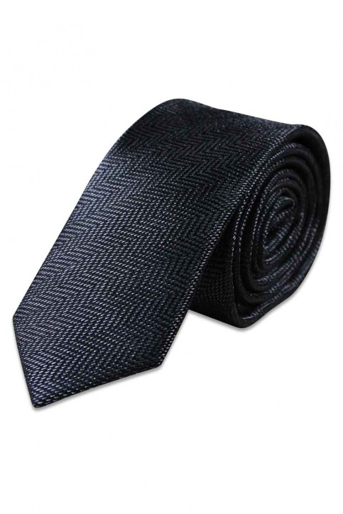 ACCESSORIES BY JACK & JONES Dassen zwart JACCUBA TIE_BLACK img1