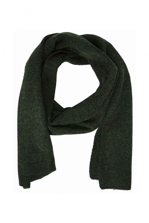 ACCESSORIES BY JACK & JONES Echarpes vert JACDNA KN SCARF RCH_RIFLE GREEN img2