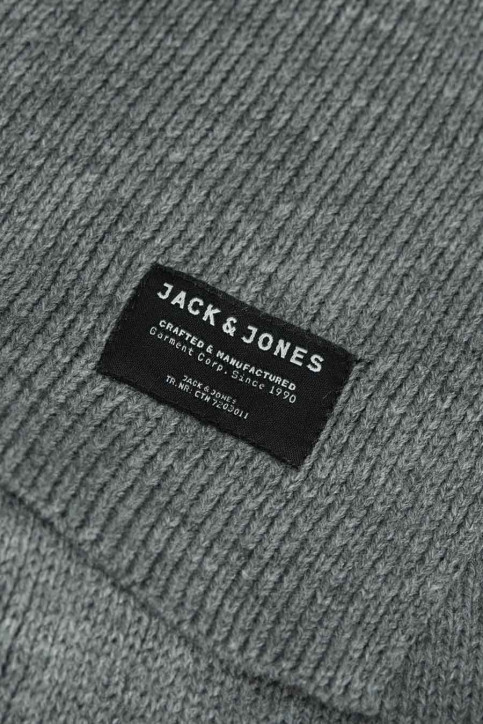 ACCESSORIES BY JACK & JONES Wintersjaals grijs JACDNA KNIT SCARF_GREY MELANGE img2