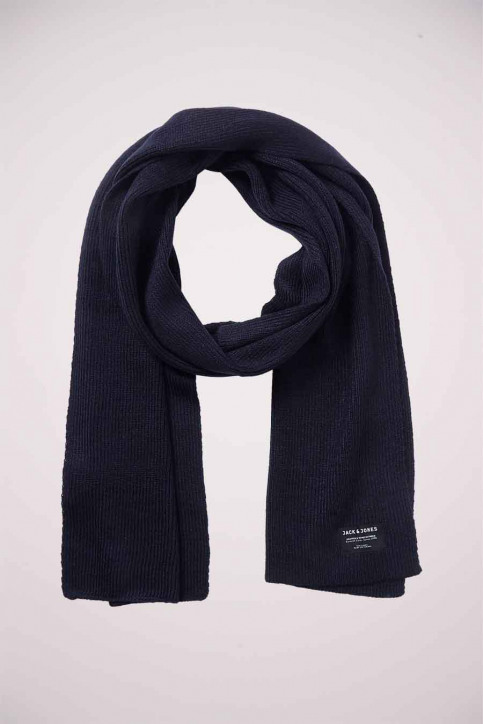ACCESSORIES BY JACK & JONES Wintersjaals blauw JACDNA KNIT SCARF_NAVY BLAZER img1