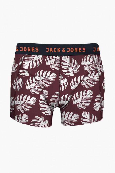 ACCESSORIES BY JACK & JONES Boxers bordeaux JACLEAF TRUNKS NOOS_CORDOVAN img1