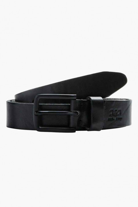 ACCESSORIES BY JACK & JONES Riemen zwart JACLEE LEATHER BELT_BLACK img1
