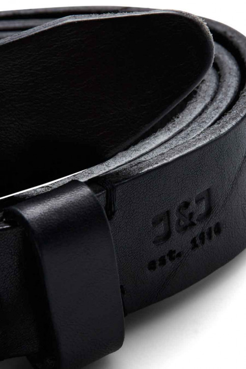 ACCESSORIES BY JACK & JONES Riemen zwart JACLEE LEATHER BELT_BLACK img2