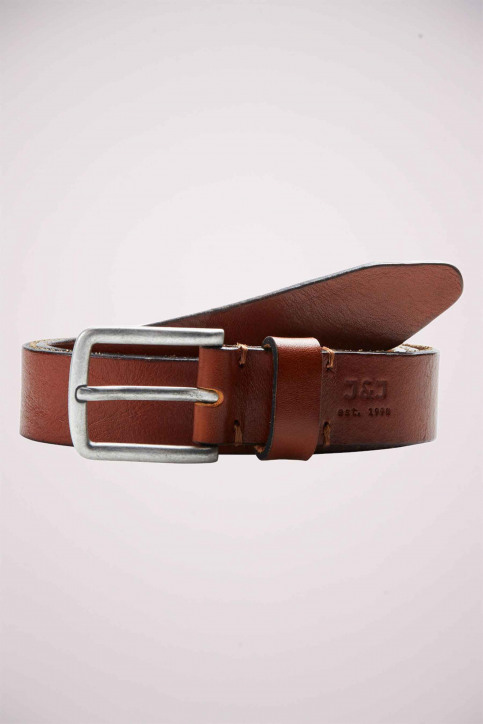 ACCESSORIES BY JACK & JONES Riemen JACLEE LEATHER BELT_MOCHA BISQUE img1