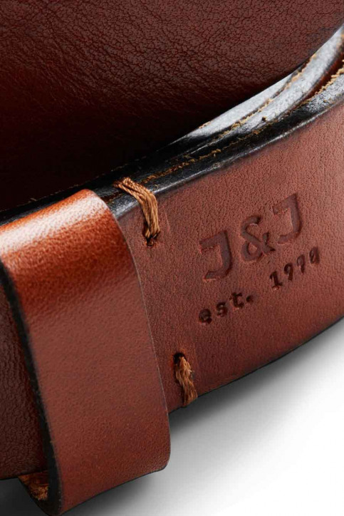 ACCESSORIES BY JACK & JONES Riemen JACLEE LEATHER BELT_MOCHA BISQUE img2