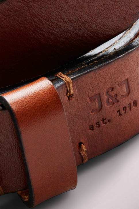 ACCESSORIES BY JACK & JONES Riemen JACLEE LEATHER BELT_MOCHA BISQUE img4
