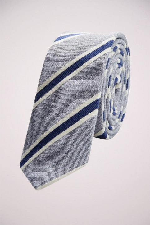 ACCESSORIES BY JACK & JONES Dassen grijs JACMILANO TIE_GREY MELANGE ST img1