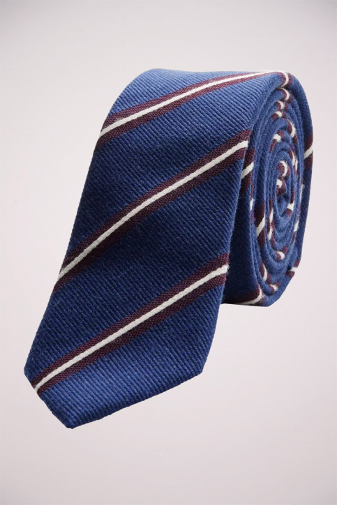ACCESSORIES BY JACK & JONES Dassen blauw JACMILANO TIE_NAVY BLAZERSTR img1