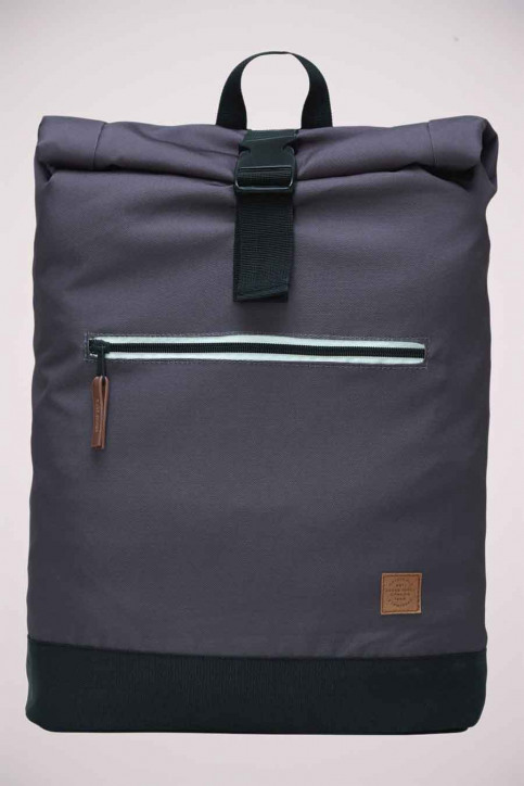 ACCESSORIES BY JACK & JONES Sacs à dos gris JACROLL TOP BACKPACK_ASPHALT img2