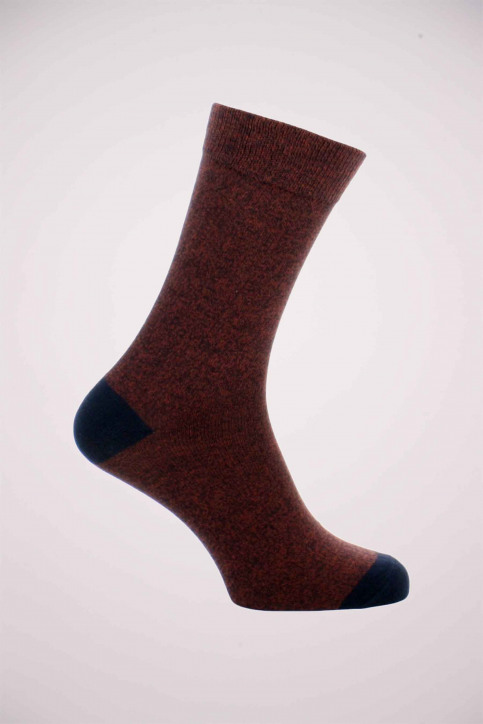 ACCESSORIES BY JACK & JONES Sokken rood JACSALM SOCKS NOOS_BURNT HENNA img1