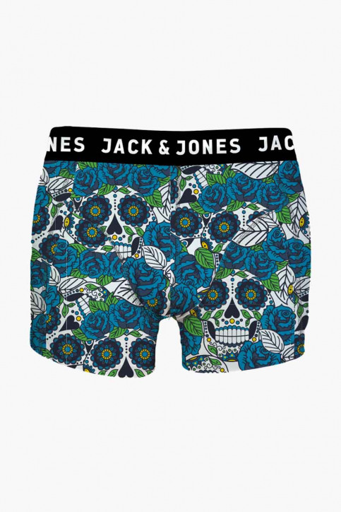 ACCESSORIES BY JACK & JONES Boxers blanc JACTOBY TRUNKS NOOS_WHITE img1