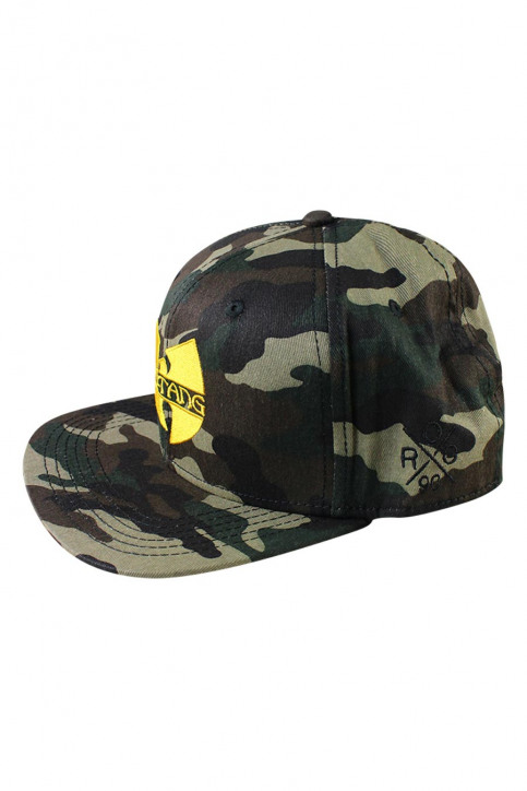ACCESSORIES BY JACK & JONES Casquettes bleu JACWU TANG SNAPBACK_FOREST NIGHT img3