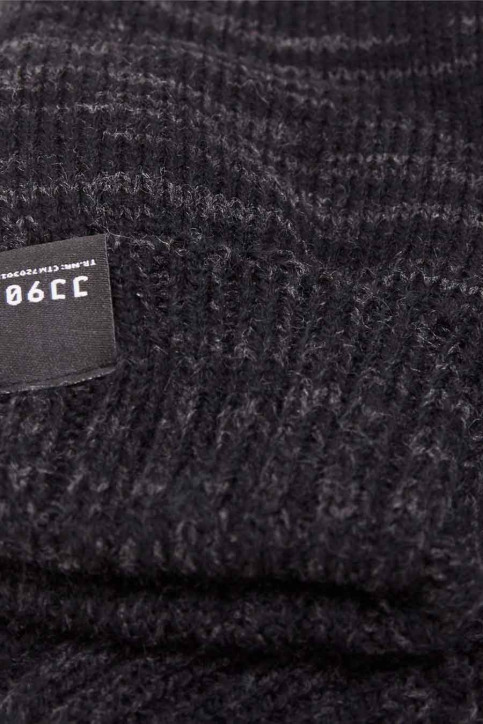 ACCESSORIES BY JACK & JONES Gants gris JCONOAH KNITTED GLOV_DARK GREY MEL img2