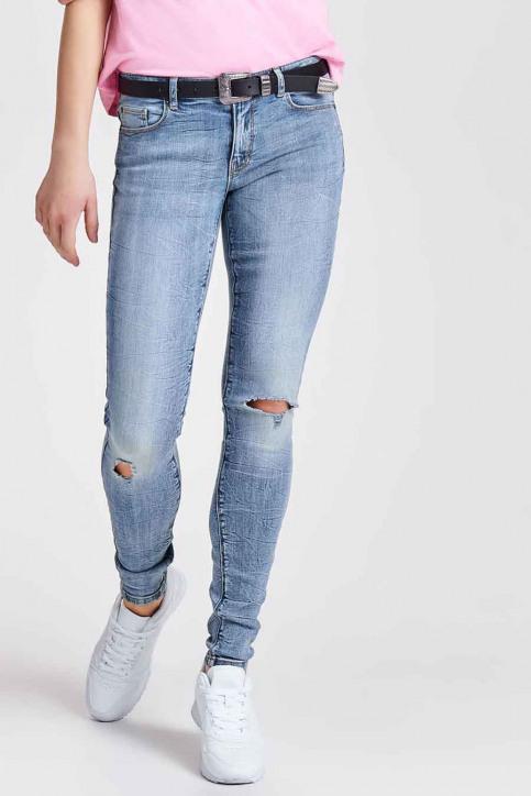 JACQUELINE de YONG Jeans skinny denim JDYSKINNY REG FLORA_LIGHTBLUE DENIM img1