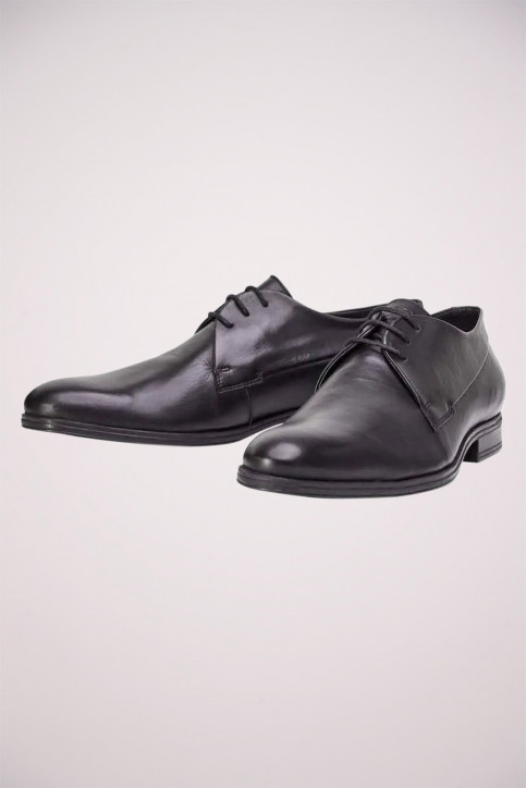 ACCESSORIES BY JACK & JONES Chaussures noir JFWSAMMY LEATHER NOO_ANTRACITE img2