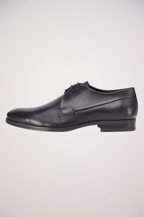 ACCESSORIES BY JACK & JONES Chaussures noir JFWSAMMY LEATHER NOO_ANTRACITE img3