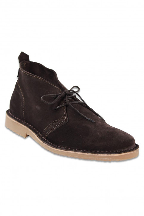 PREMIUM BY JACK & JONES Chaussures brun JJ GOBI DESERT BOOT_BROWN STONE img1