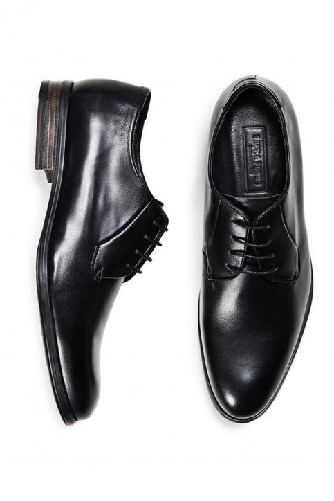 ACCESSORIES BY JACK & JONES Chaussures noir JJ MAGNUS L DRESS SH_BLACK img1