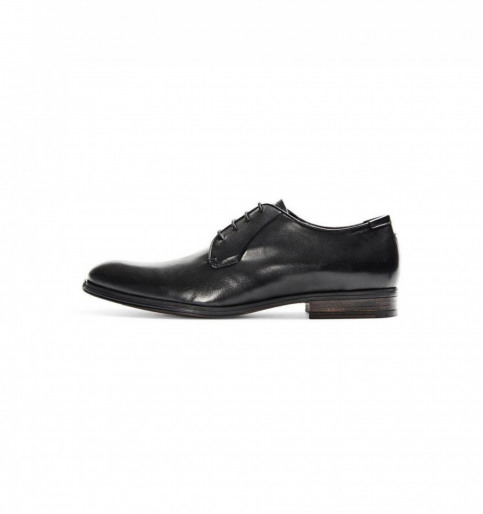 ACCESSORIES BY JACK & JONES Chaussures noir JJ MAGNUS L DRESS SH_BLACK img2