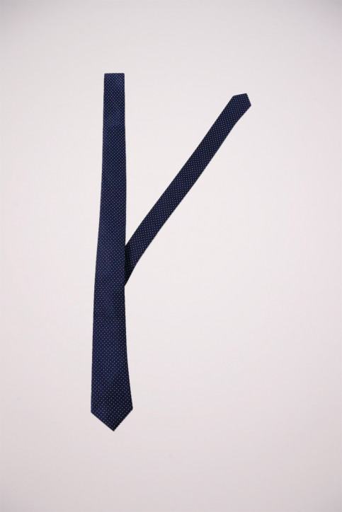 ACCESSORIES BY JACK & JONES Dassen blauw JJACNOOS TIE_BLACK NAVY DOTS img3