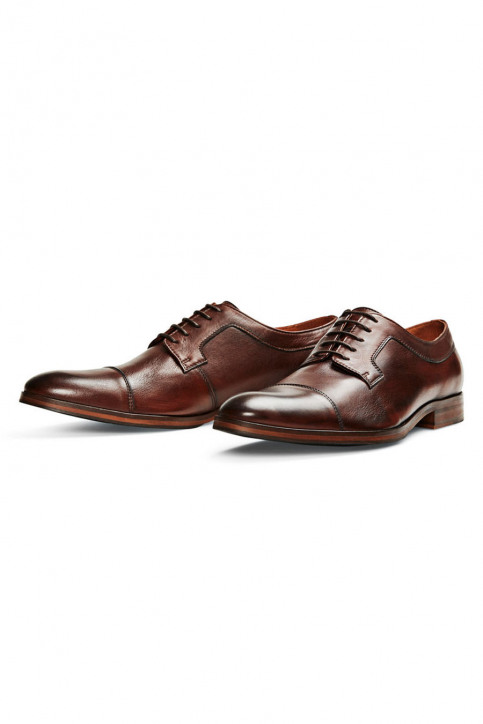 ACCESSORIES BY JACK & JONES Schoenen bruin JJARNOLD LEATHER SHO_BROWN PATINA img2