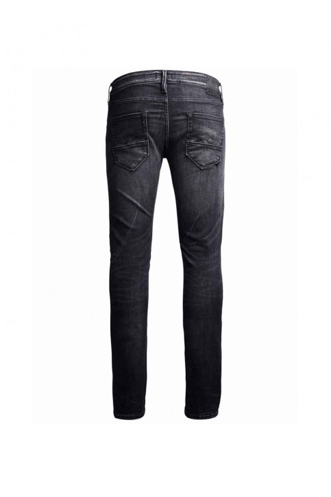 JACK & JONES JEANS INTELLIGENC Jeans slim noir JJGLENN FOX_BL655BLACK img4