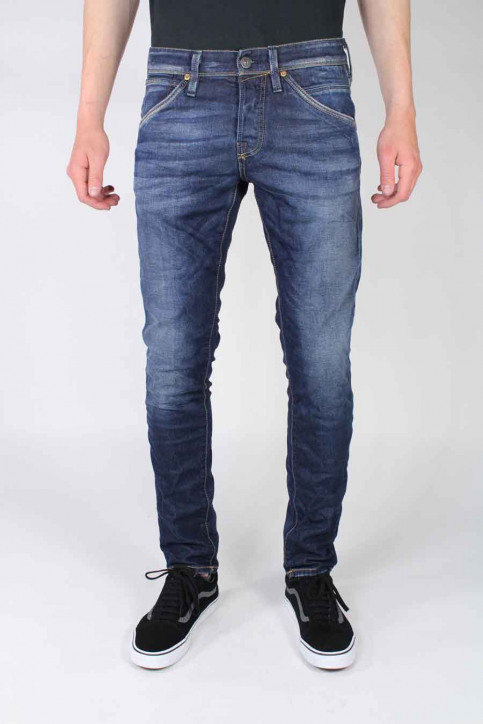 JACK & JONES JEANS INTELLIGENC Jeans slim denim JJGLENN FOX_BL669 img1